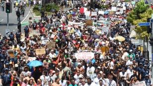 G20 BRISCAN PROTEST